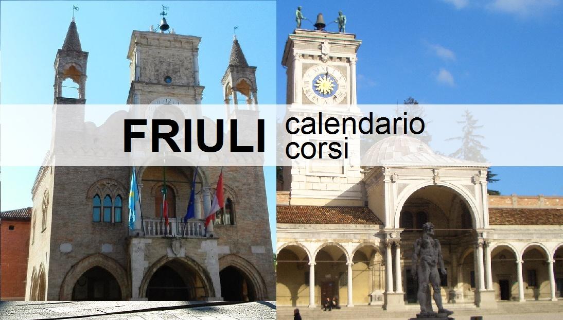 CALEND CORSI OLOS FRIULI